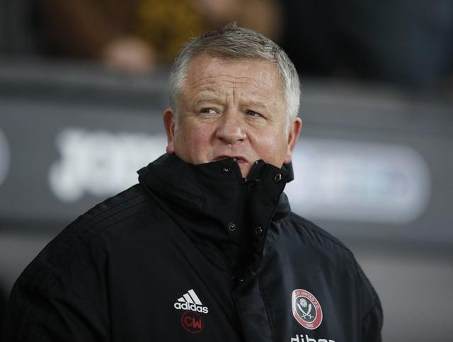 Chris Wilder spoke with Slavisa Jokanovic before the new man took charge of Sheffield United. Simon Bellis/Sportimage