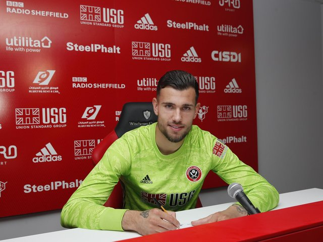 Michael Verrips signed for Sheffield United after they reached the Premier League: Simon Bellis/Sportimage