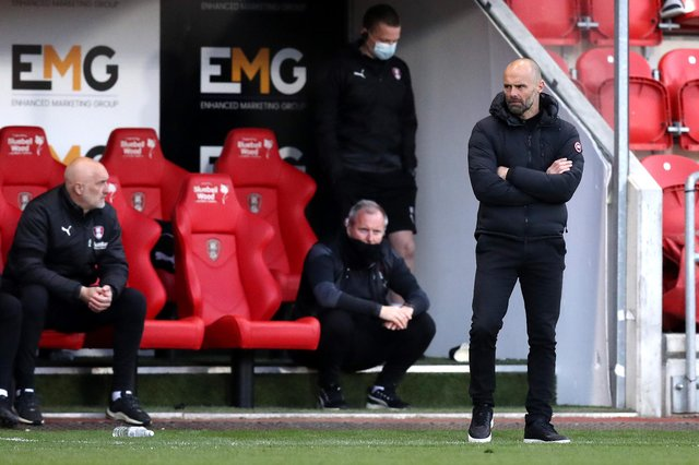 Rotherham United remain deep in relegation trouble after defeat to Birmingham City on Sunday.