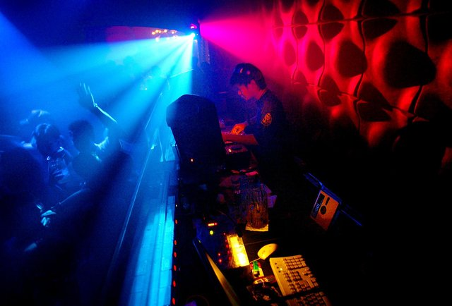 A DJ produces disco music (Photo Paula Bronstein/ Getty Images)