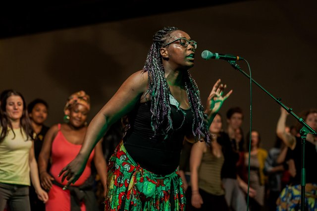 The Calabash performing at a previous Migration Matters festival.