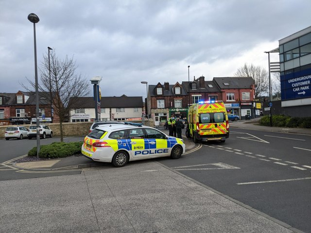 Emergency services attended the scene.