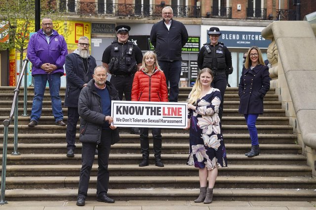 The Know The Line campaign was launched on May 17 to coincide with the full reopening of the hospitality sector