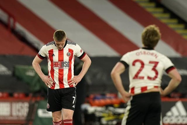 John Lundstram has left Sheffield United: Andrew Yates / Sportimage