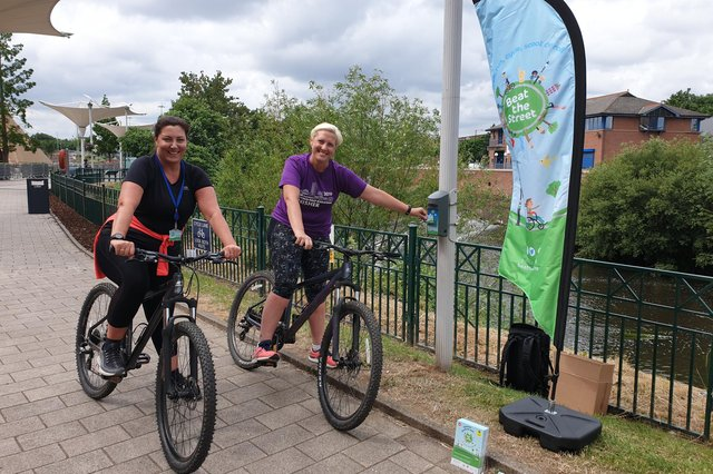 Sheffield's Beat the Street campaign invites local residents to walk, cycle and roll as far as possible in six weeks.