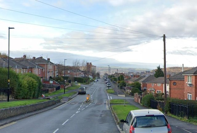 Buses have been diverted away from Maltravers Road in Sheffield due to yobs lobbing missiles (pic: Google)