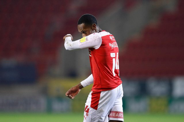Rotherham United's Mickel Miller has joined Northampton Town until the end of the season. (Photo by George Wood/Getty Images)