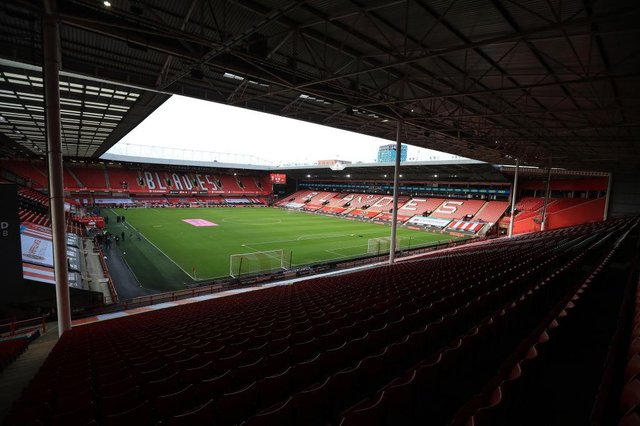 Bramall Lane, the home of Sheffield United.. (Photo by Mike Egerton - Pool/Getty Images)