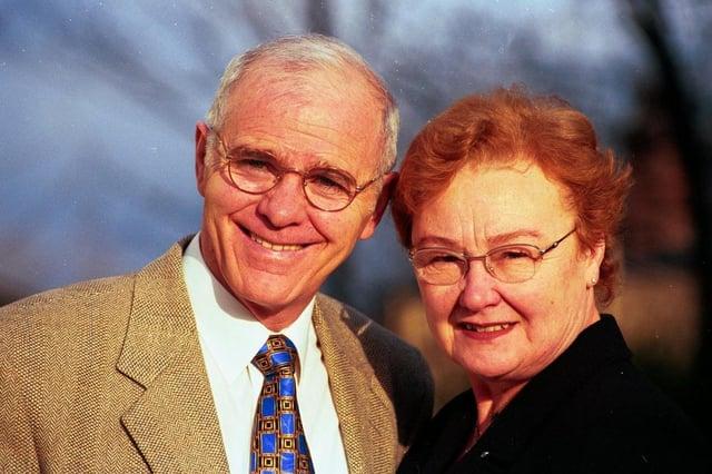 Brendan and Alma Ingle of Newman Road, Wincobank.