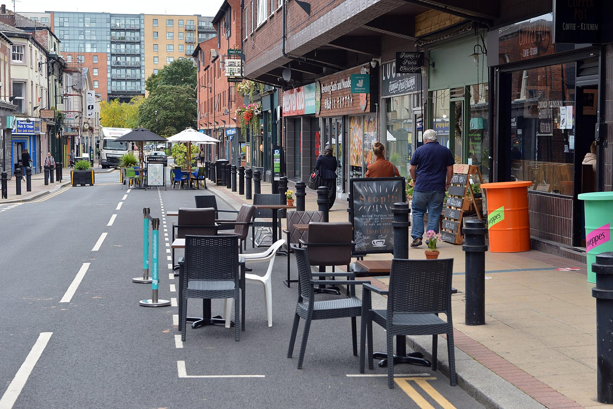 1,200 masks given out and 51 pavement licences granted to help Sheffield's hospitality sector
