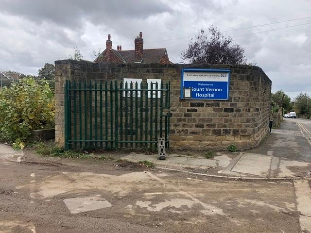 The former hospital site.