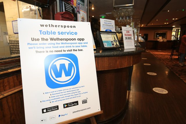 Take a look inside Wetherspoins pub The Bankers Draft in Sheffield