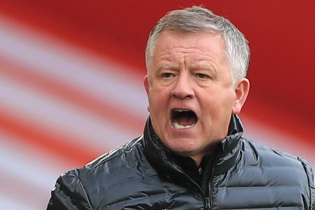 Chris Wilder had been a frontrunner to take over as West Brom manager but the Baggies appear to have settled with Davis Wagner as their new boss. (Photo by MIKE EGERTON/POOL/AFP via Getty Images)