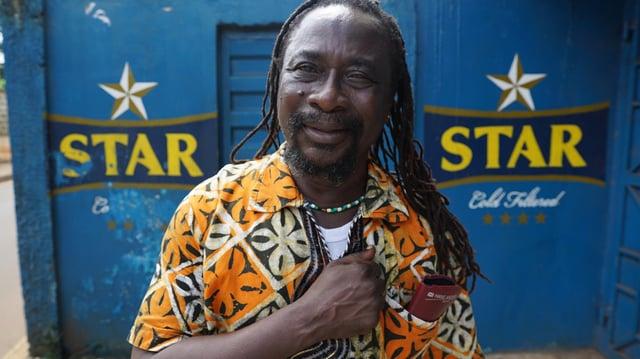 Sorious Samura in Sing, Freetown