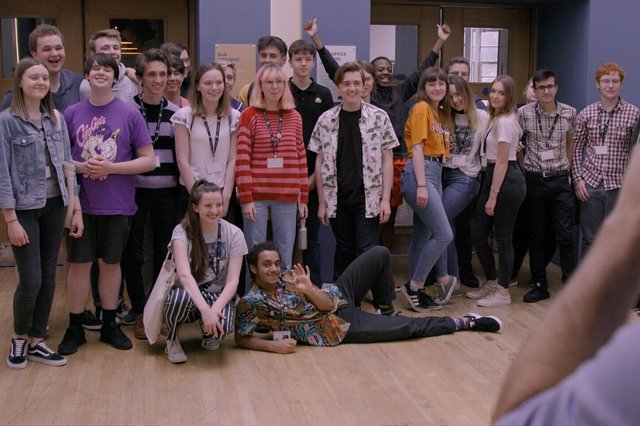 Participants from the last BFI Academy Residential in August 2019.