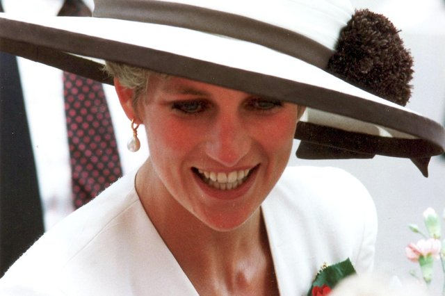 Princess Diana taken August 1991