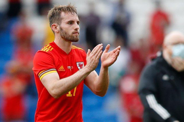 Rhys Norrington-Davies was on international duty with Wales this summer, before cutting short his summer break to return to training with Sheffield United: Darren Staples / Sportimage
