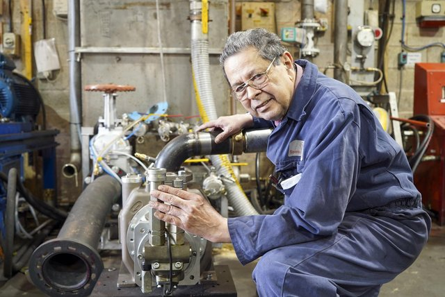 Ken Torres at Torres Pumps and Engineering says government should have sorted out post Brexit trading arrangements years ago. Picture Scott Merrylees