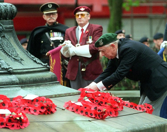 Remembrance Parades and Services from two decades ago