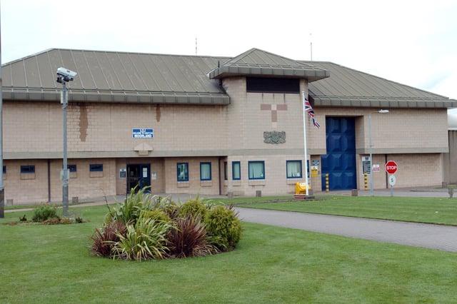 HMP Prison Moorland, near Hatfield Woodhouse, Doncaster.