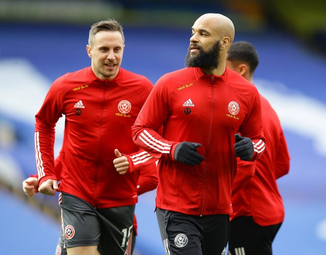 David McGoldrick is leading from the front at Sheffield United: David Klein/Sportimage