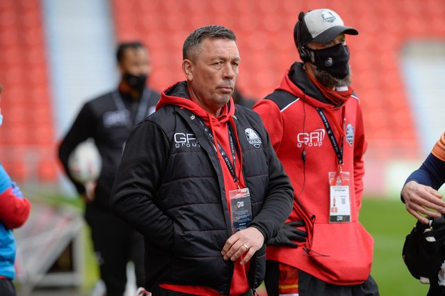 Sheffield Eagles head coach Mark Aston.