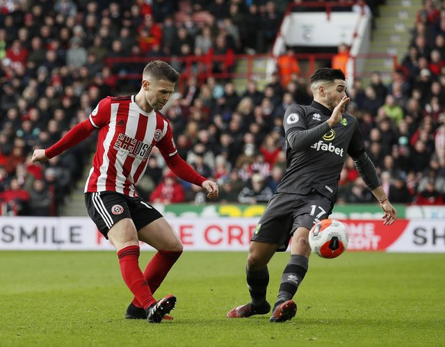 Oliver Norwood says he wants to stay with Sheffield United for the rest of his career: Simon Bellis/Sportimage