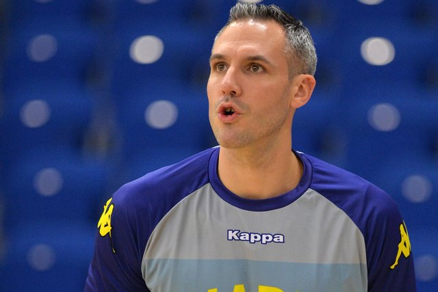 Mike Tuck has been with Sheffield Sharks for 12 seasons.