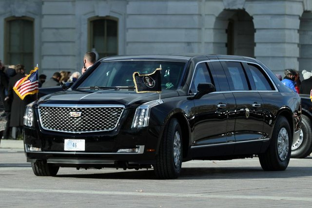 President Joe Biden is the second President to use this version of The Beast