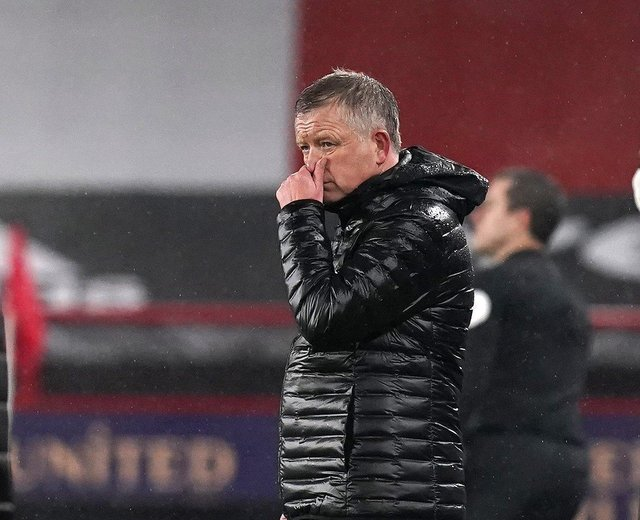 Former Sheffield United manager Chris Wilder: Andrew Yates/Sportimage