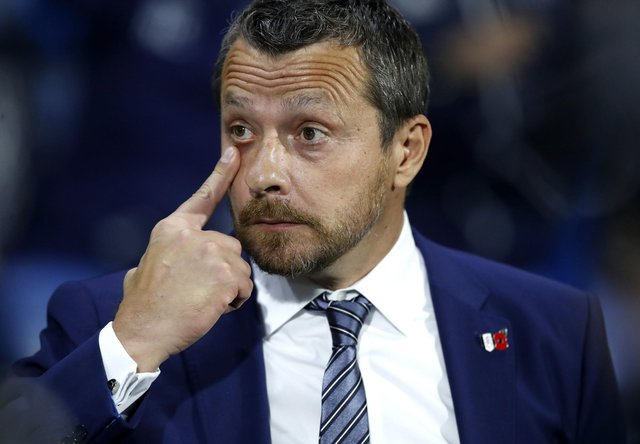 Slavisa Jokanovic will be keeping an eye on goings-on at his former club Fulham: Martin Rickett/PA Wire.
