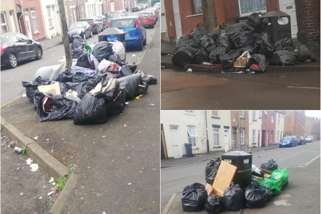 Litter and fly-tipping is an issue in Page Hall, Sheffield