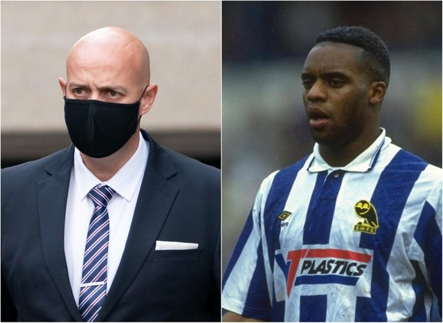 PC Benjamin Monk is to be sentenced today for the manslaughter of former Sheffield Wednesday striker Dalian Atkinson