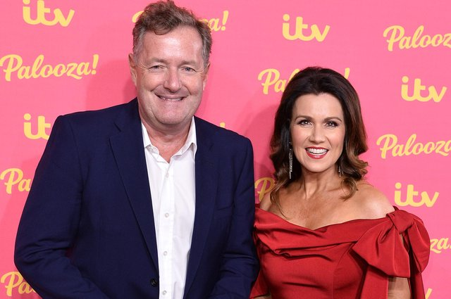 Piers Morgan and Susanna Reid attend the ITV Palooza (Photo by Jeff Spicer/Getty Images)