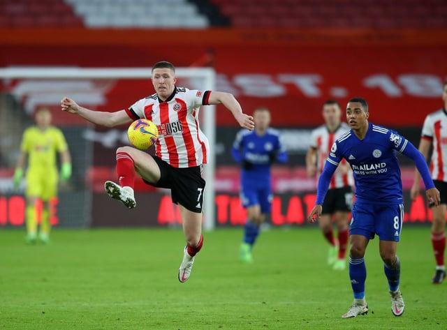 John Lundstram could leave Sheffield United next month: Simon Bellis/Sportimage
