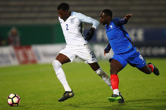 Dominic Iorfa played for England under-21s under Gareth Southgate.