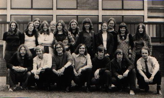 June 1972 - the academic-year students who worked on the first-ever Richmond Reporter.