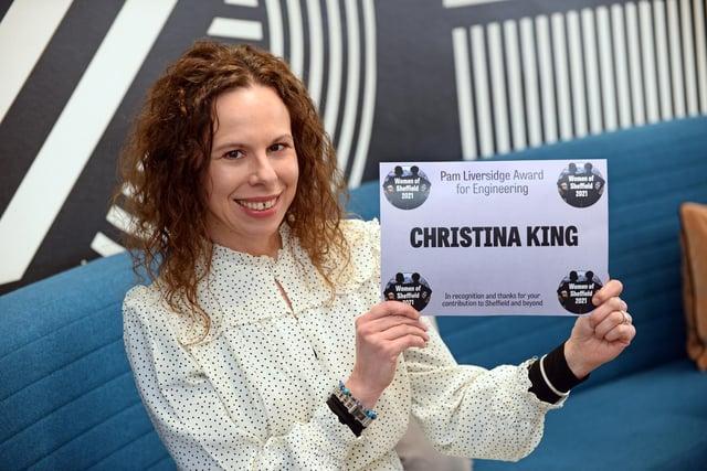 Christina King.