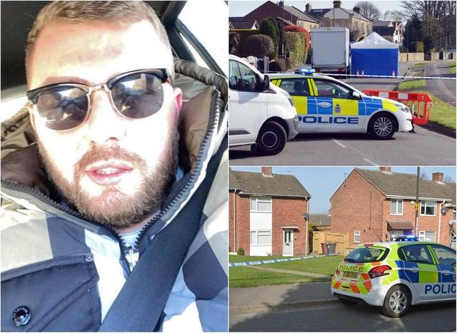 Ricky Collins was fatally stabbed in Killamarsh, near Sheffield, last week