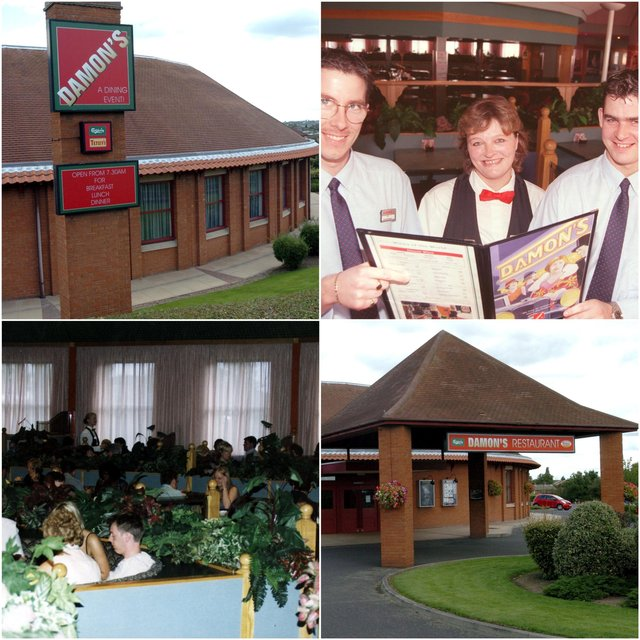 Looking back at Damon's restaurant in Beighton, Sheffield, which is set to become a Wetherspoons pub called The Scarsdale Hundred.