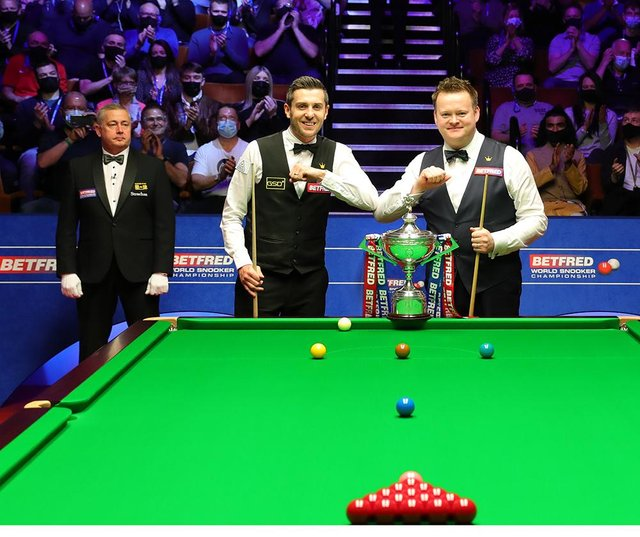 Shaun Murphy and Mark Selby are contesting this year's final at the Crucible.