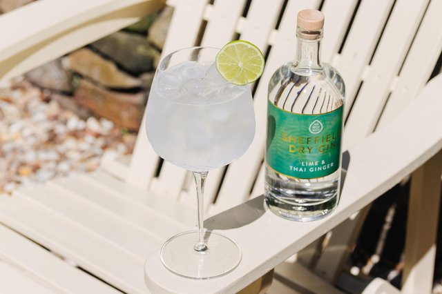 The new gin from Sheffield Dry Gin combines fresh limes with the warming, sharp flavour of Thai ginger to create a citrusy, refreshing summer gin. Picture: Victoria Greensmith Photography