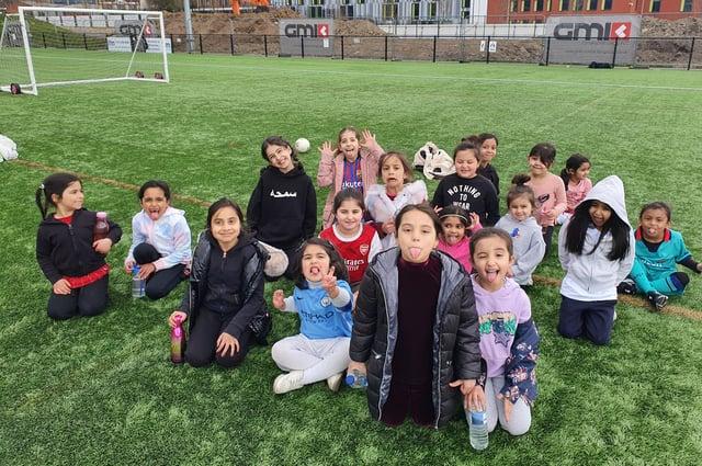 Girls from Darnall Academy
