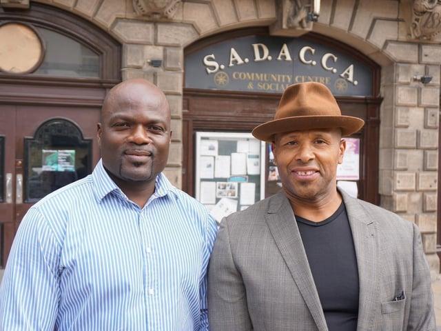 Olivier Tsemo and Rob Cotterell of Sadacca.