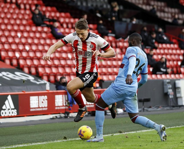 Sheffield United's Sander Berge has overcome a difficult start to his career in England and blossomed into one if Bramall Lane's best players: Darren Staples/Sportimage