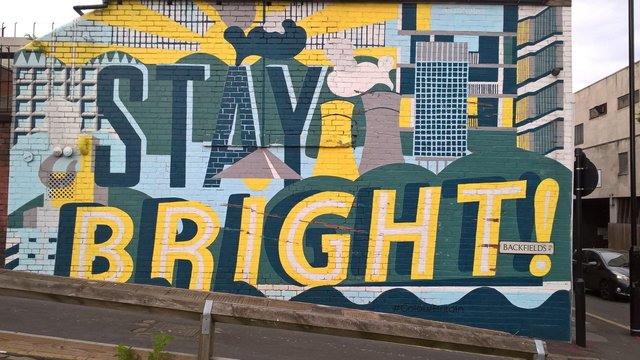 Heritage Strategy for Sheffield on which Joined Up Heritage Sheffield and many supporting individuals and organisations have been working on. Mural Backfields. (J Robin Hughes)