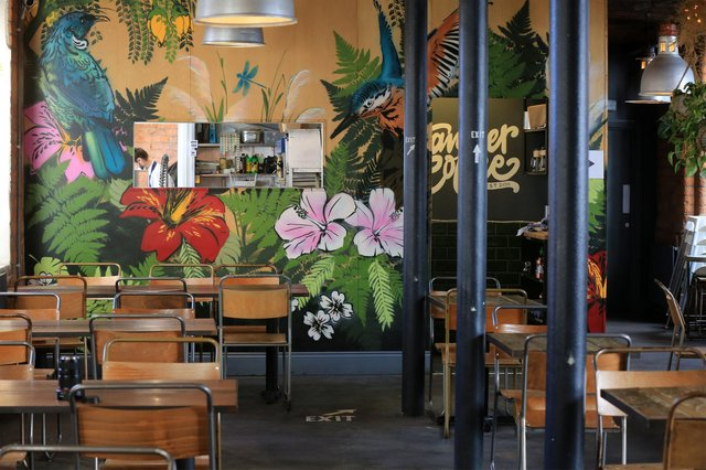 Food review at Tamper on Arundel Street. Picture: Chris Etchells