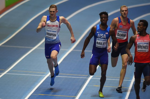 Sheffield sprinter Lee Thompson is back in action for Great Britain this weekend.