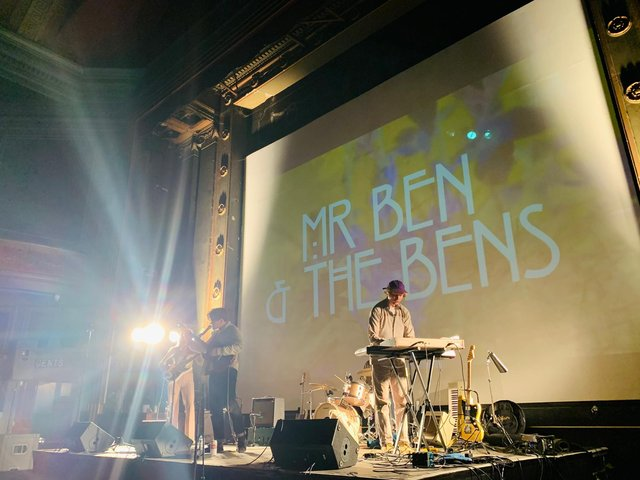 Mr Ben and the Bens at the Abbeydale Picture House