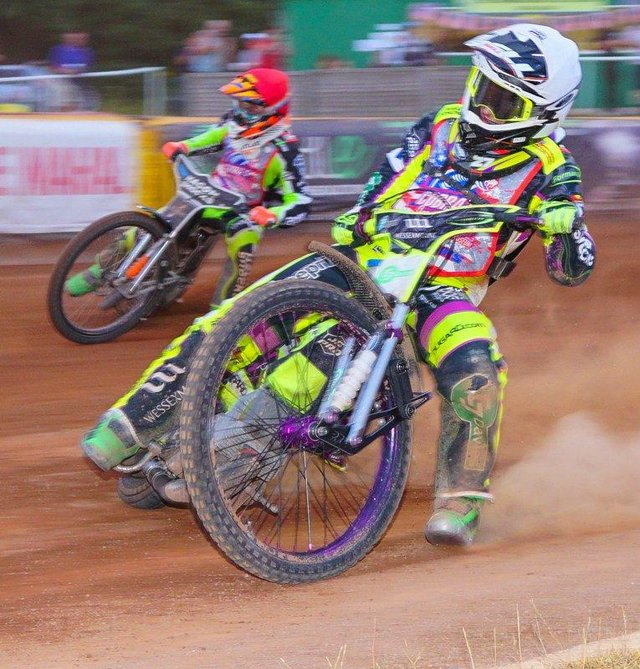 Tom Brennan will ride for Sheffield Tigers tonight against Peterborough. Picture: Ian Groves